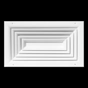Anemostat prostokątny 4-drożny ANP