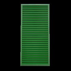 Czerpnia ścienna CzS-A / (rama typ R2) / 800x1800 / RAL6002 / aluminium