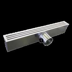 Nawiewnik NS-3-szczelinowy / L=2000 / RAL9016 / aluminium + skrzynka SR-B/P / fi200 / stal ocynkowana