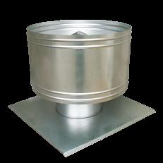 Wywietrzak cylindryczny WC z dodatkową płytą (płyta na specjalne życzenie klienta)