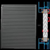 Krata KWSP/P do zapięcia w panel okienny / drzwiowy