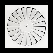Nawiewnik wirowy NWK-1 / 500x500 / RAL9016 / stal ocynkowana