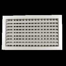 Krata z podwójnym rzędem ruchomych lamel (1-poziome, 2-pionowe) ST-W/S